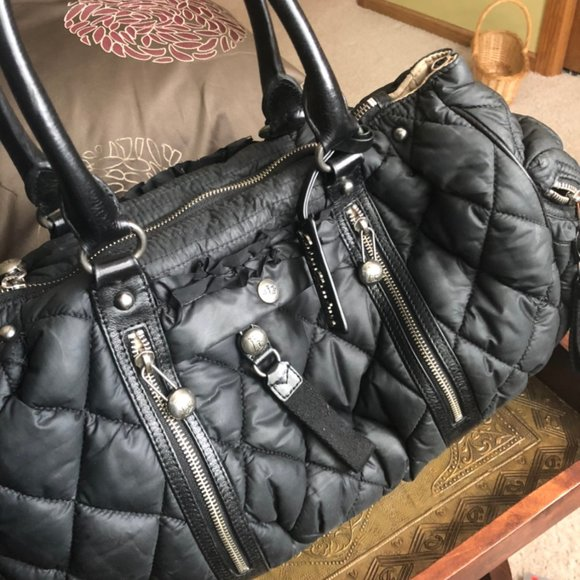 Juicy Couture Accessories - Juicy Couture Large Quilted Handbag